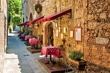Siena Toscane van Kurt Krause