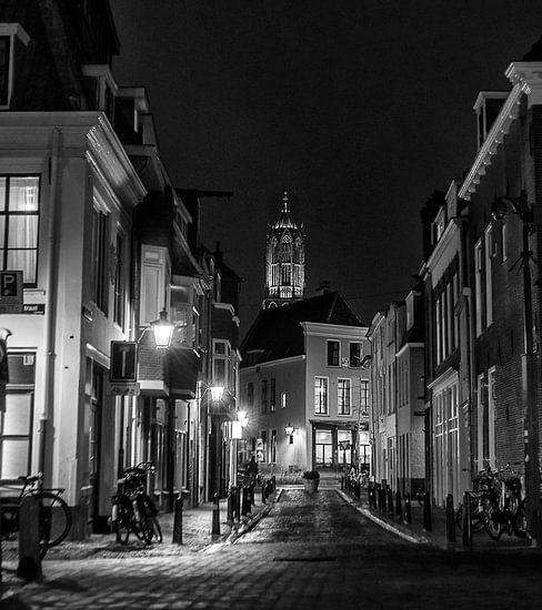 Harde Bollen straat Utrecht van Robin Pics