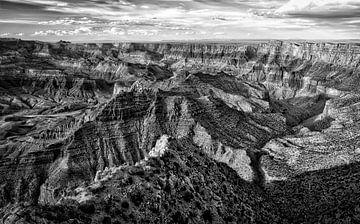 HDR foto van de Grand Canyon van Roel Beurskens