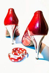 Red & glossy van