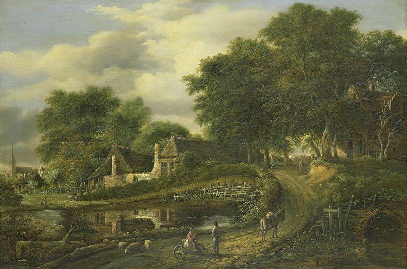 Landschap, Julien Joseph Ducorron van Meesterlijcke Meesters