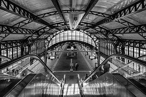 historisch Station Den Bosch van Pixel Meeting Point