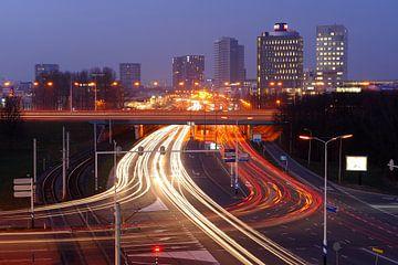 Europalaan en A12 in Utrecht van Donker Utrecht