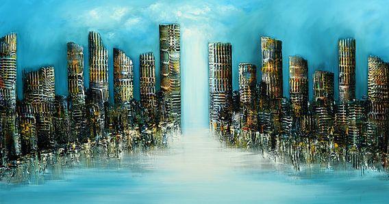 Skyline van Gena Theheartofart
