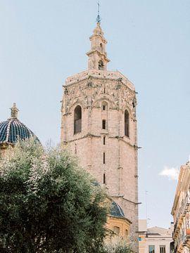 Schöne Kirche in Valencia, Spanien von Youri Claessens