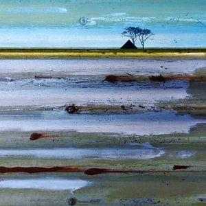 Abstract Waddenlandschap