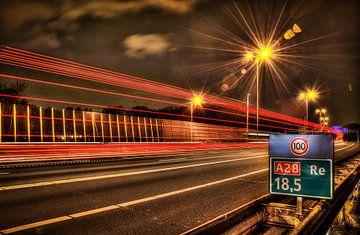 Highway van Kei(stad) Donker