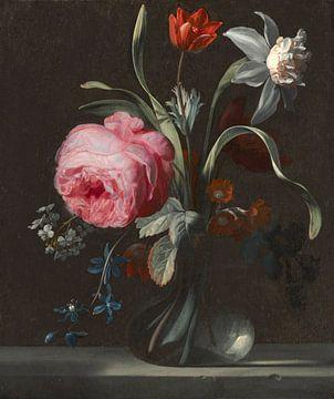 Bloemen in een Vaas, Simon Verelst