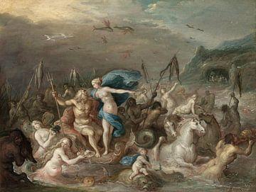 Der Triumph von Neptun und Amphitrite, Frans Francken der Jüngere