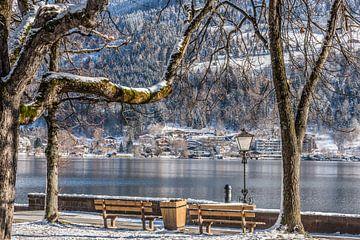 Bänke am Zeller See (A) von Martine Dignef