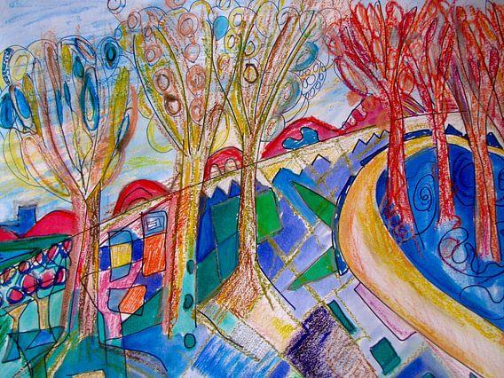 de bomen van Ellen Tijmes