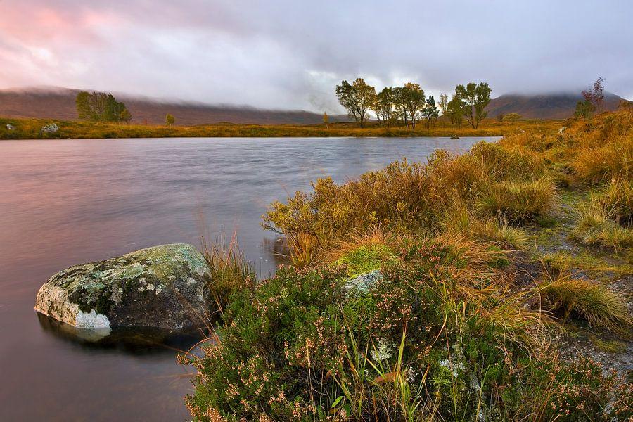 Rannoch Moor, Schotland van Peter Bolman