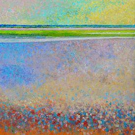 Strand von Ballum Ameland von Ger Veuger