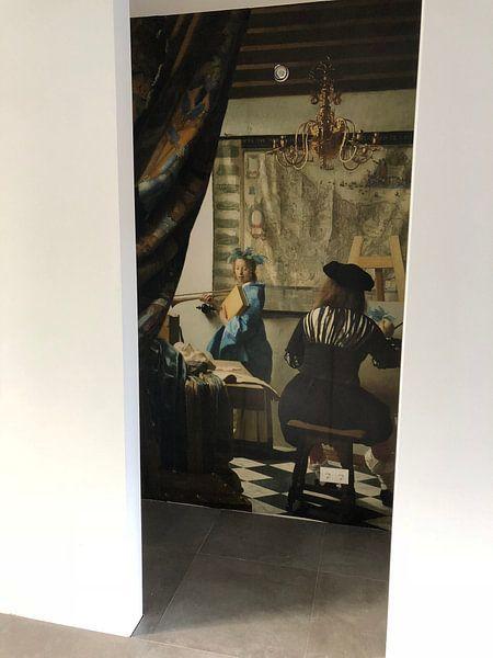 Klantfoto: Johannes Vermeer.  De Schilderkunst van 1000 Schilderijen