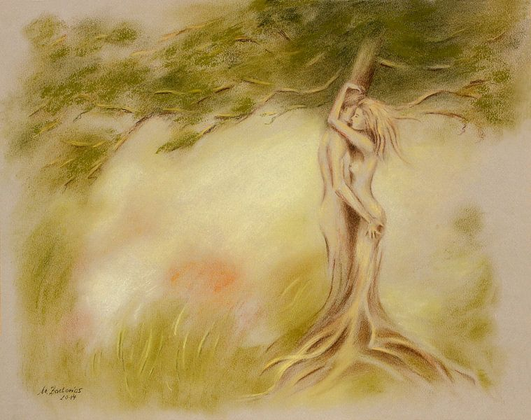 Mystischer Baum ? Bildersymbolik van Marita Zacharias