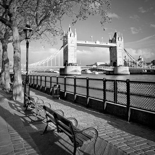 Tower Bridge van Melanie Viola