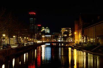 Leeuwarden cityscape 1 van Marcel Kieffer