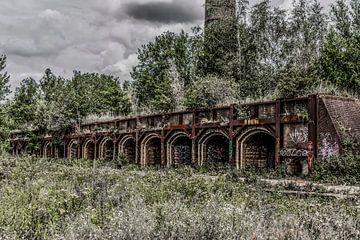 Ovens van een oude steenfabriek van Ans Bastiaanssen