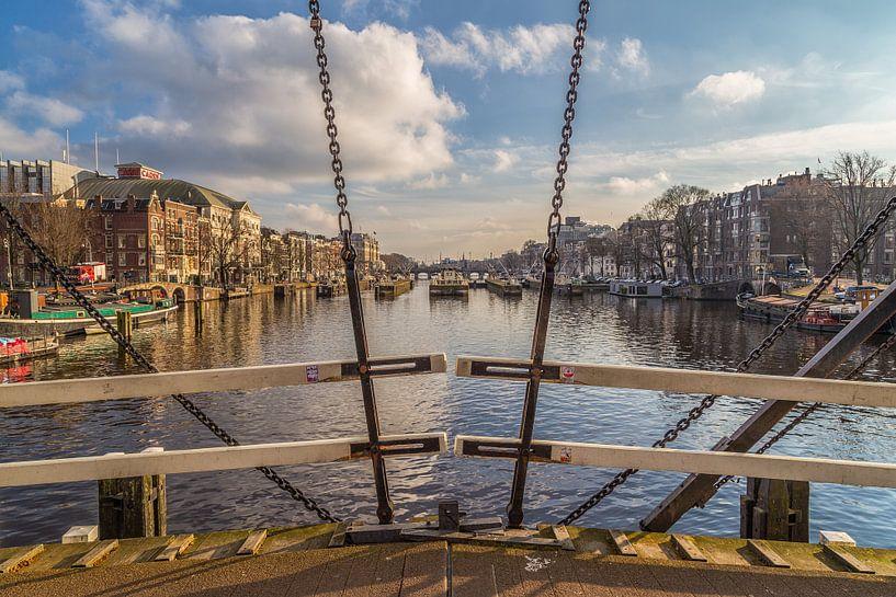 Magere Brug en de Amstel in Amsterdam - 3 van Tux Photography