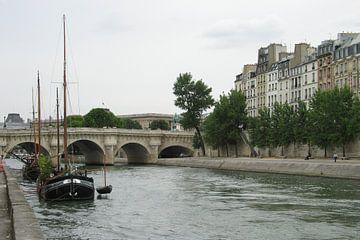 Seine in Parijs sur Anouk Davidse