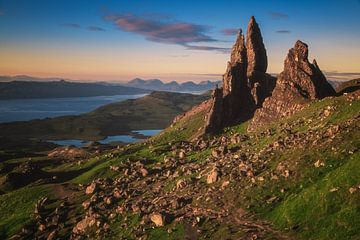 Schottland Old Man of Storr auf der Skye von Jean Claude Castor