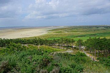 Terschelling, eiland in Holland van Dirk van Egmond