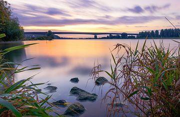 Zonsopkomst aan de Rijn van Max ter Burg Fotografie