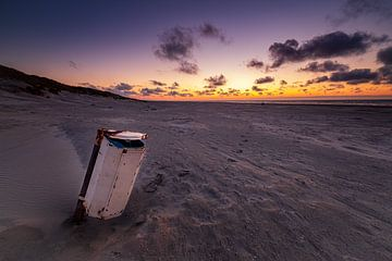 Strandjutten op Ameland van Evert Jan Luchies