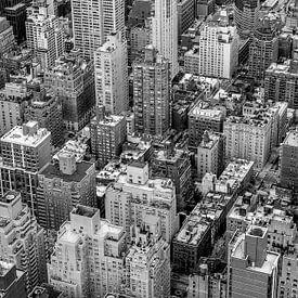 New York City von Oben von Hans Moerkens