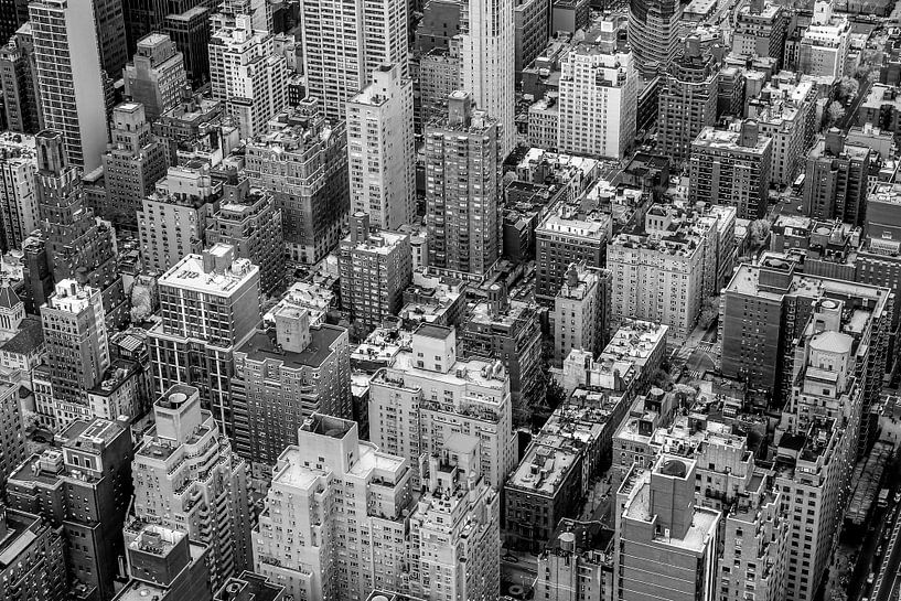 New York City van Bovenaf van Hans Moerkens