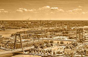 Trois ponts de Rotterdam - monochrome