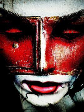 The red mask van Gabi Hampe