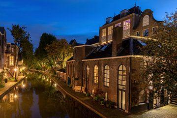 Avond aan de Oudegracht Utrecht