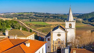 Óbidos, ummauerte Stadt in Portugal von Jessica Lokker