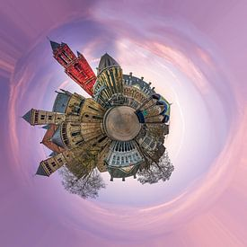 Vrijthof Maastricht panorama van by Feelingz