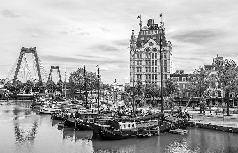 De Oude Haven met het Witte Huis in Rotterdam van MS Fotografie   Marc van der Stelt