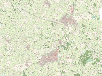 Kaart vanOost Gelre