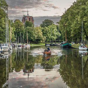 stadsgracht Leeuwarden spiegel