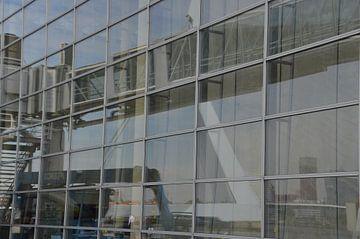 Réflexion Pont Erasmus sur Marieke van der Hoek-Vijfvinkel