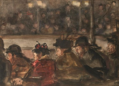 In het circus, Isaac Israels van Meesterlijcke Meesters