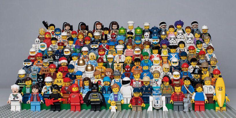 LEGO Groepsfoto van Michiel Mos