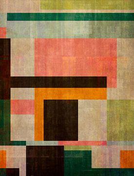 Abstracte samenstelling 1217 van Angel Estevez