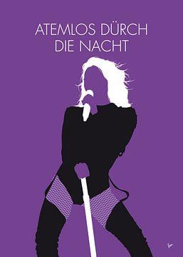 No221 MY HELENE FISCHER Minimal Music poster von