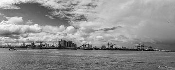 Rotterdam Europoort Maritime Industrie von Wim Mourits
