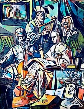 Allegorie der Musik von zam art