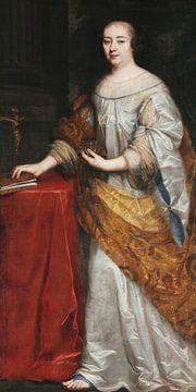 Porträt von Madame de Mauteville, Louis Ferdinand Elle