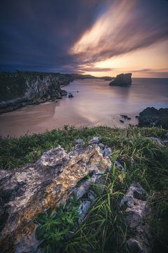Asturië Playa Almenada van Jean Claude Castor