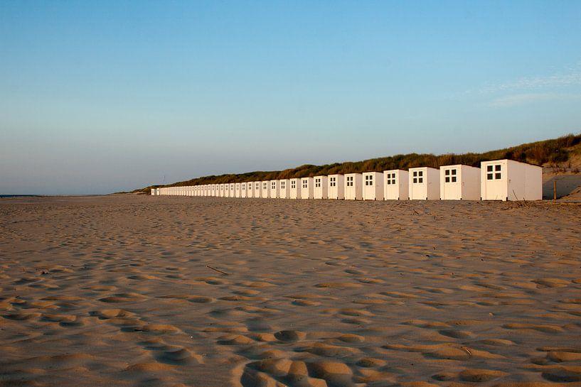 Beach-cabins van Maarten Krabbendam