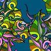 GRAFISCHE PRINT BLADEREN LOOFBOOM sur MY ARTIE WALL Aperçu