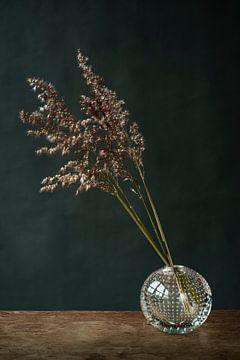 Foto von Gras in einer Vase von Jenneke Boeijink